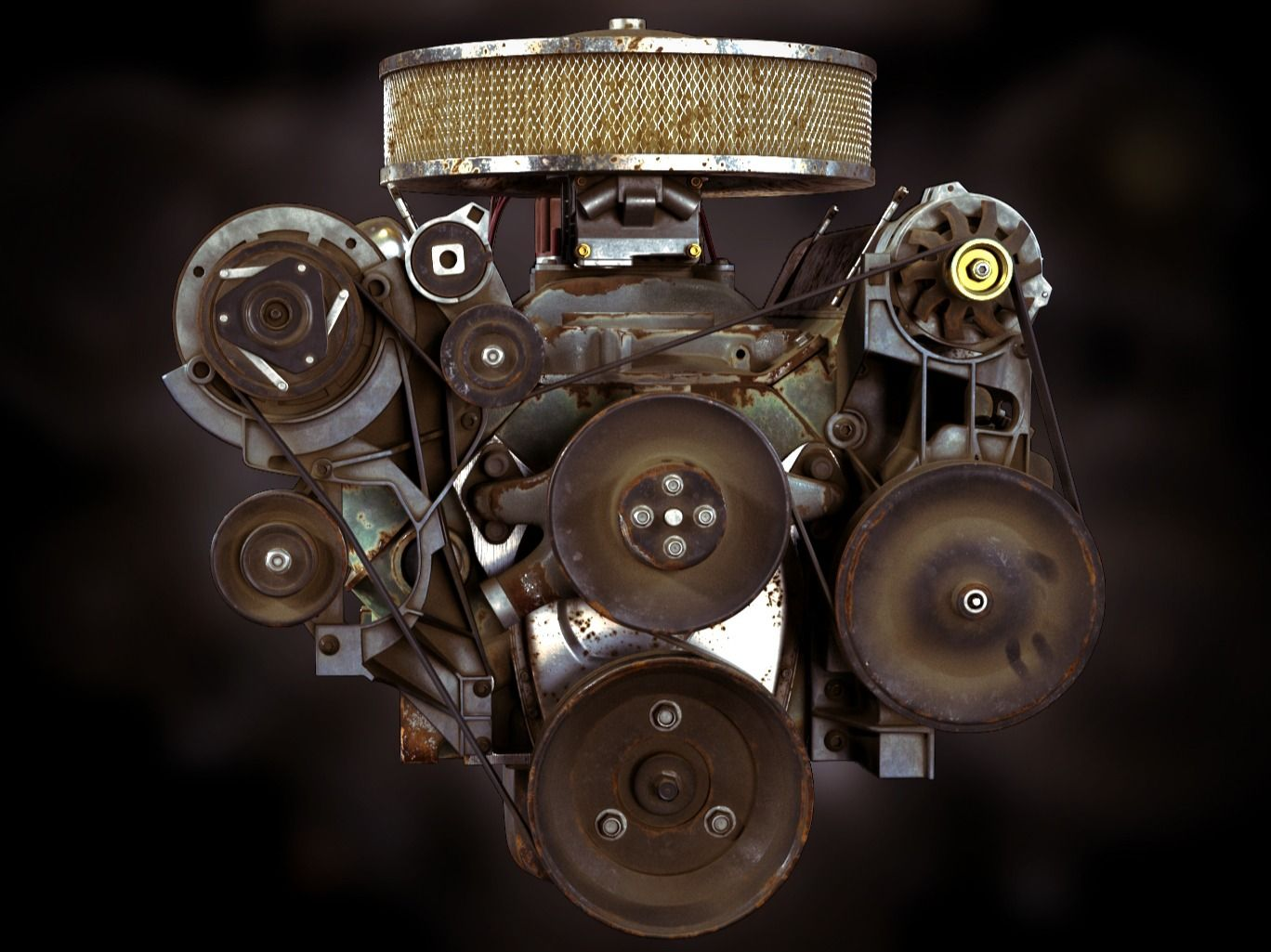 Chevrolet 350 Small Block Engine