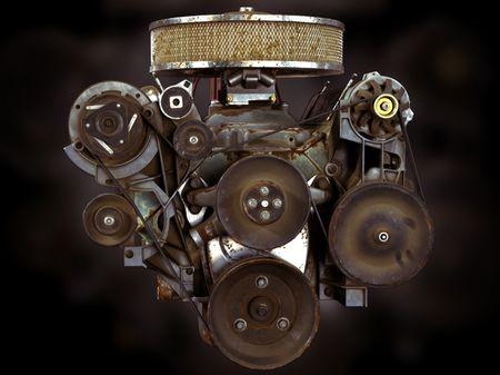 Chevrolet 350 Small Block Engine
