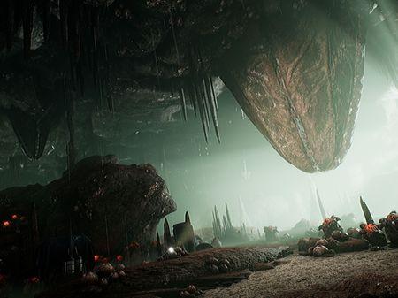 +Alien Cave+