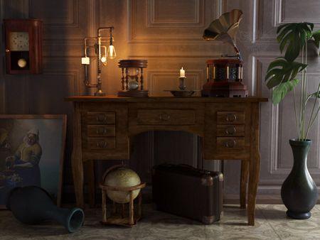 Still Life: Cabinetery