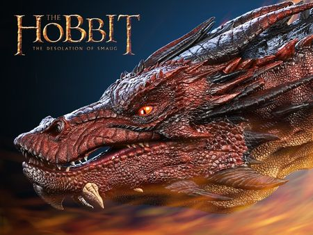 smaug fan art