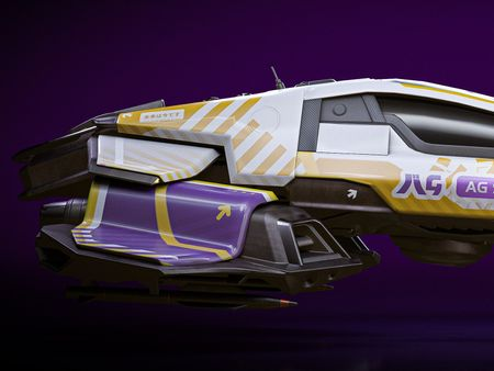 AG Systems 2052 - Wipeout Fanart