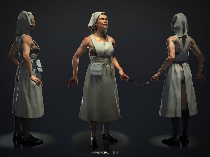Asylum Nurse