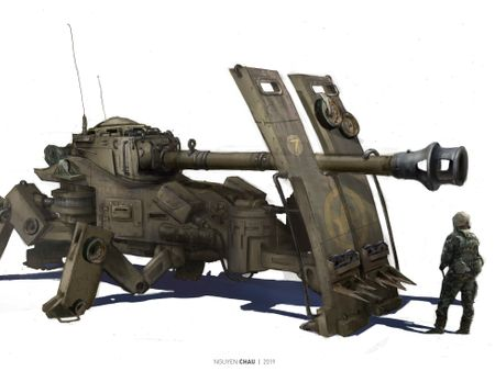 WWII Armored Walker