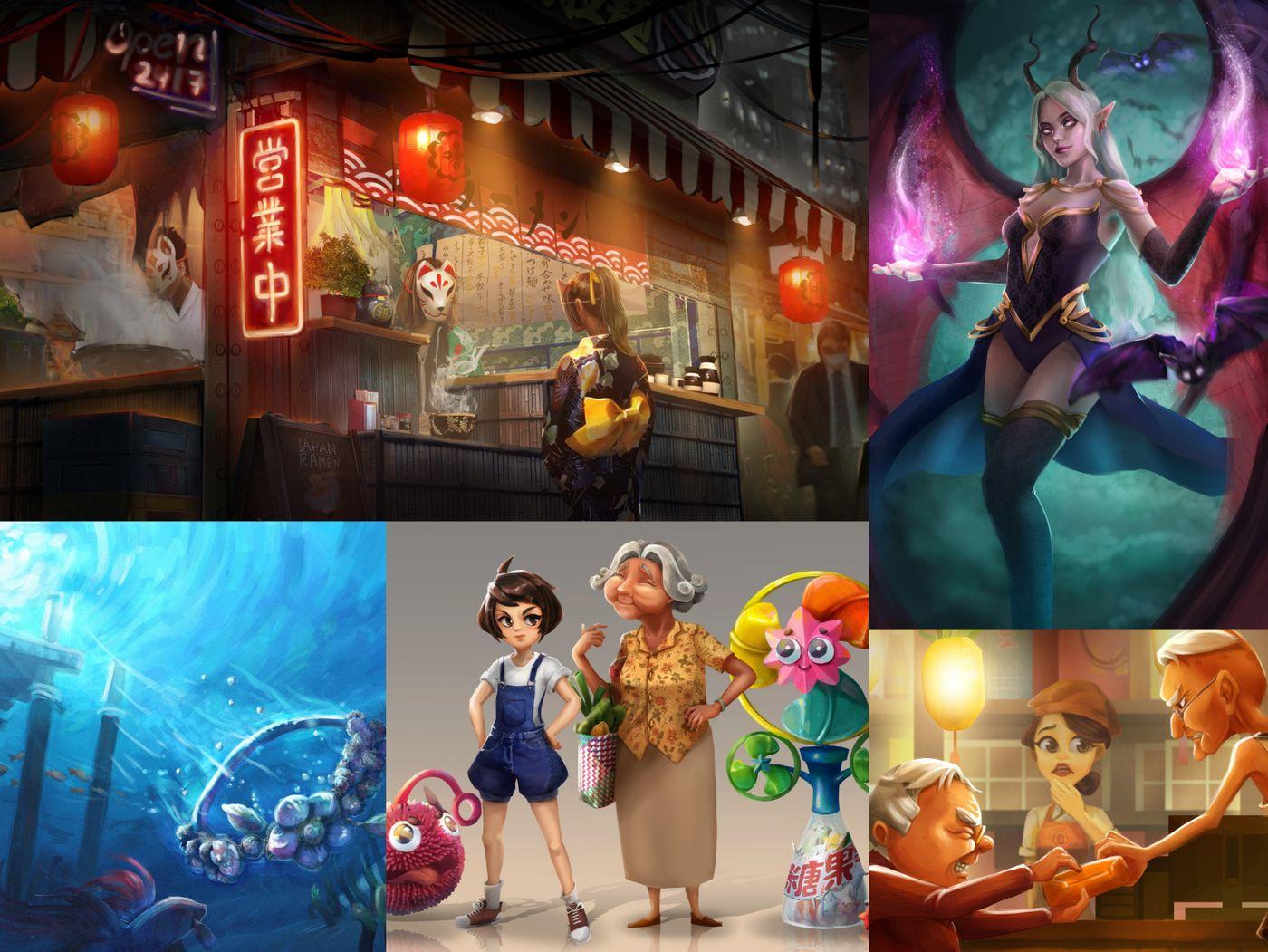 Concept Design, Illustration - Ng Wen Chyi