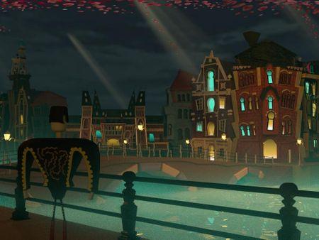 Cartoon City - Amsterdam City as Book of Life