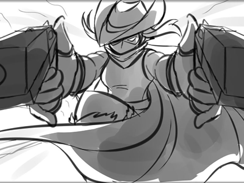 ORIGINAL: DUSK Animatic WIP