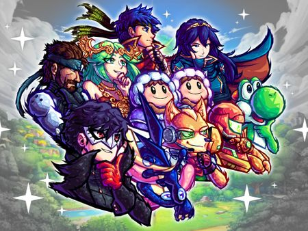 FANART: Super Smash Brothers Ultimate SA