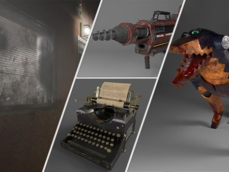 3D Model Portfolio for Games