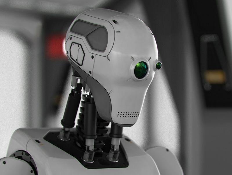 Novacon Robot Receptionist