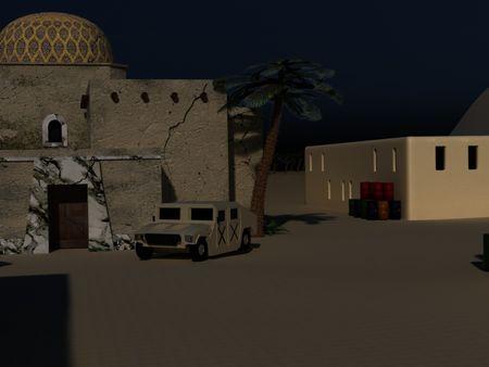 Arabic village