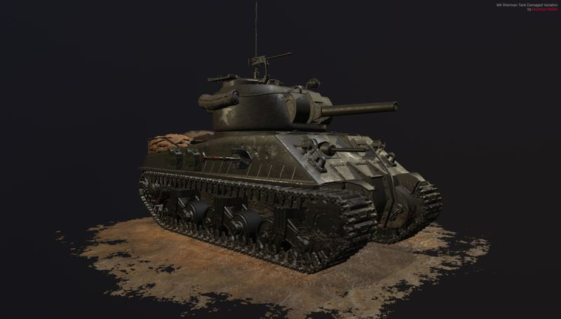M4 Sherman World War 2 Tank