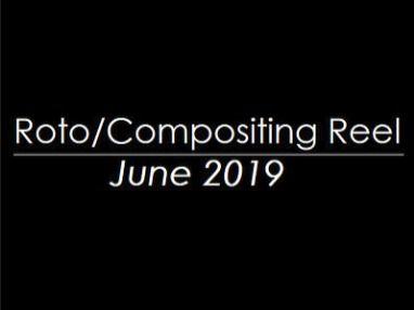 Roto/Compositing Reel June 2019