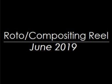 Roto/Compositing Reel June 2019