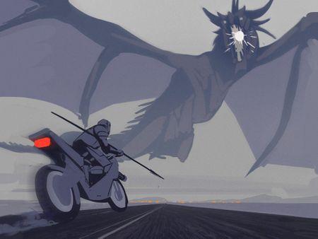 Swordman Gunbike