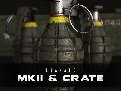 MK2 Grenade & Crate