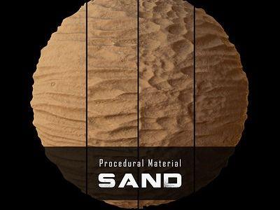 Procedural Material: Sand