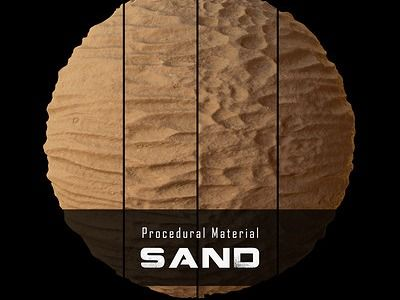 Procedural Material: Sand