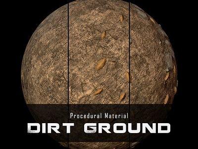 Procedural Material: Ground Dirt