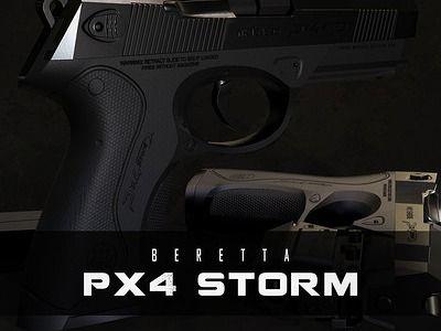 Beretta Pistol: PX4 Storm