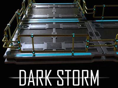 Dark Storm Ascension: Game Asset - Modular Stairs & Platform