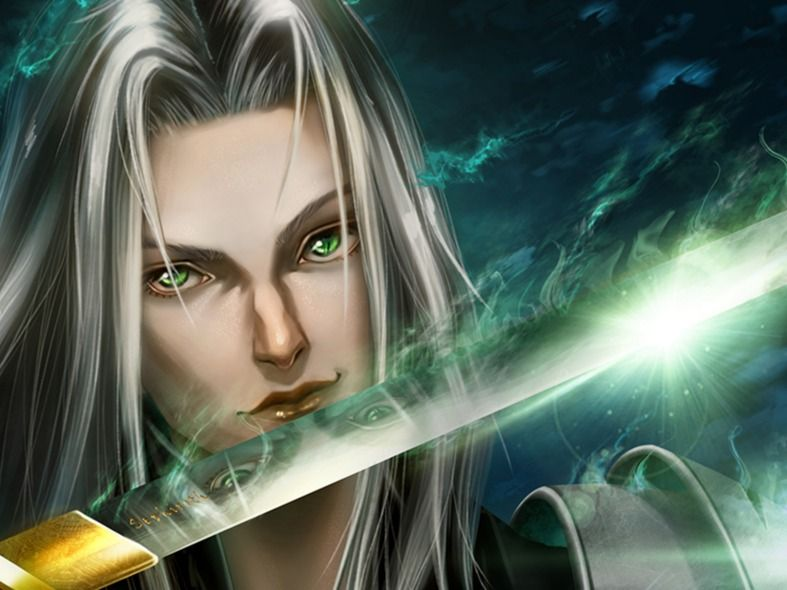 Final Fantasy VII Sephiroth | Portrait Illustration