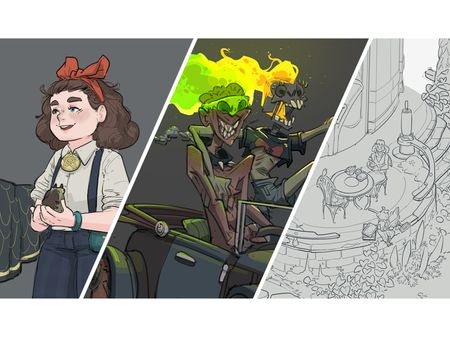 Vis Dev Project: Characters, Environments, Vehicles