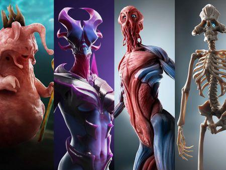 Original Creature Designs by Niclas Dreier