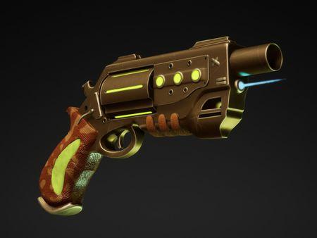 The Sheriff's revolver