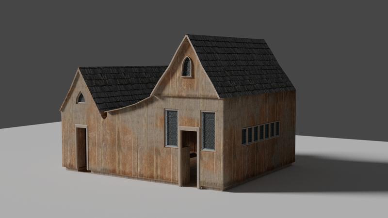 Texture house