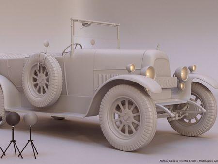 Thomas Shelby's car
