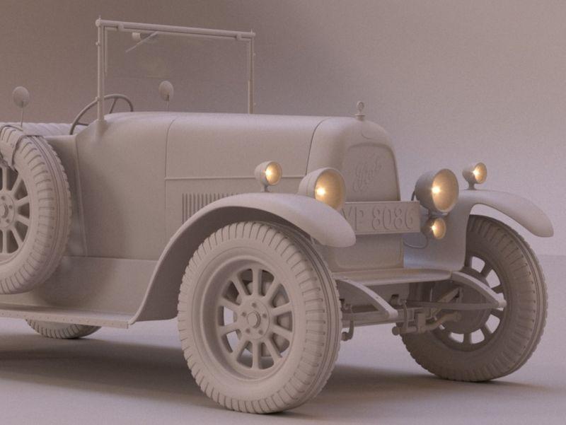 Fiat Torpedo 501 - Thomas Shelby's car