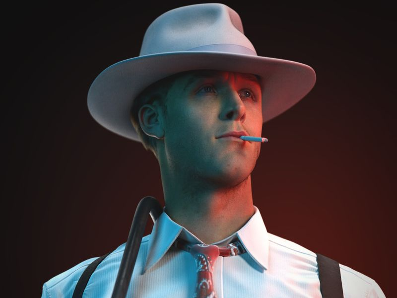Jerry Wooters | Ryan Gosling in Gangster Squad