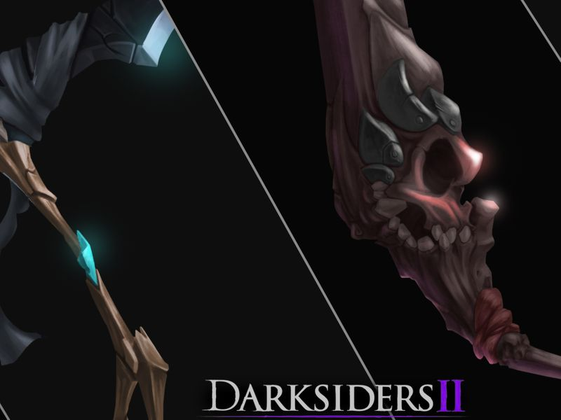 DARKSIDERS WEAPONS.
