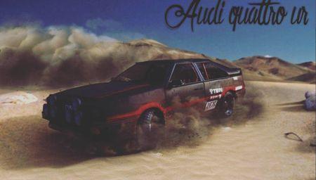 Audi quattro Ur rally