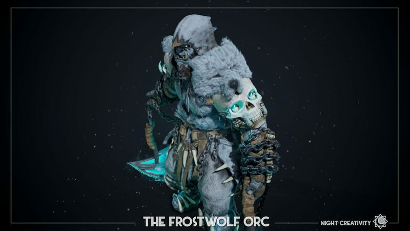 The FrostWolf Orc
