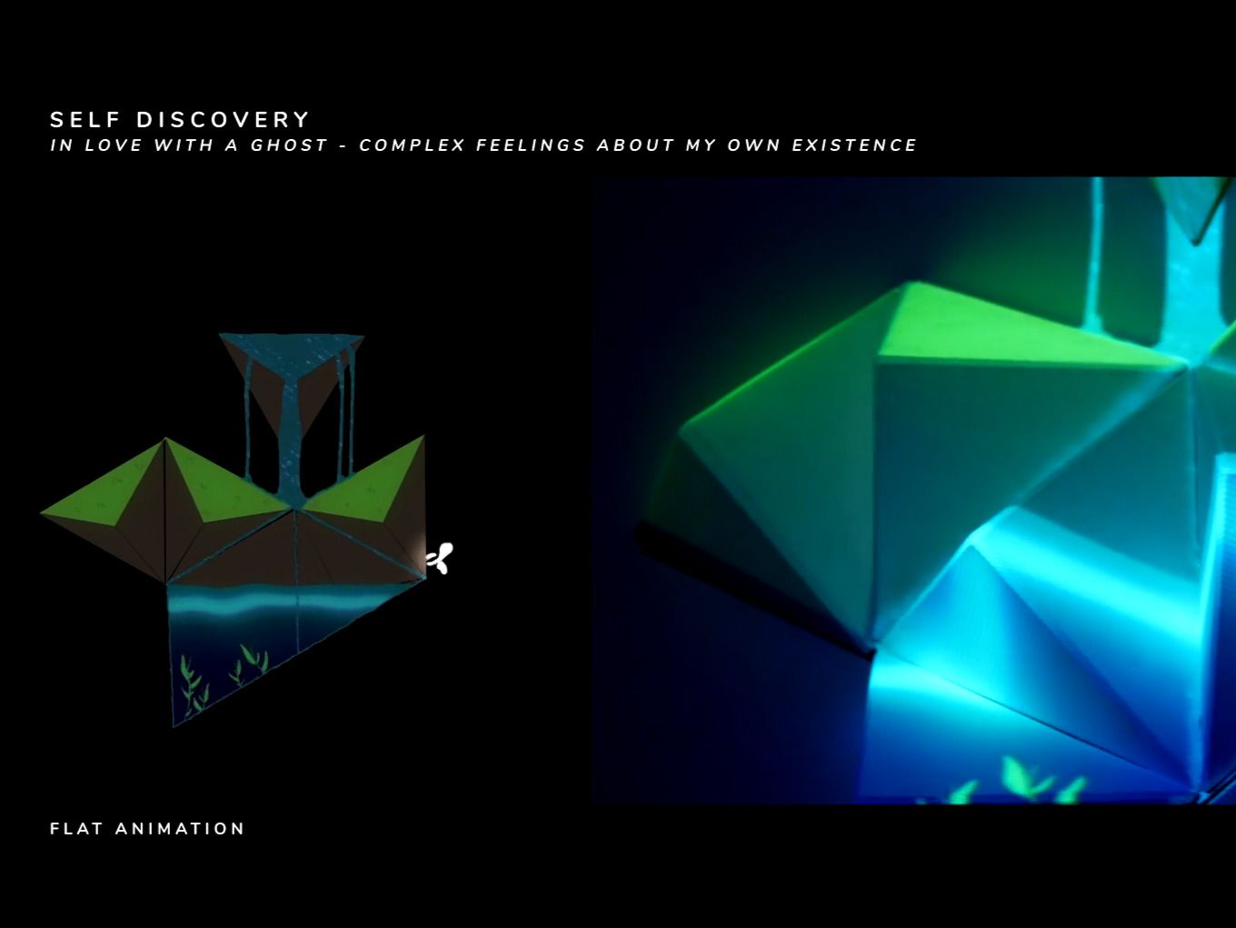 Disparate | Hei Bai | Self Discovery || Projection Mapping