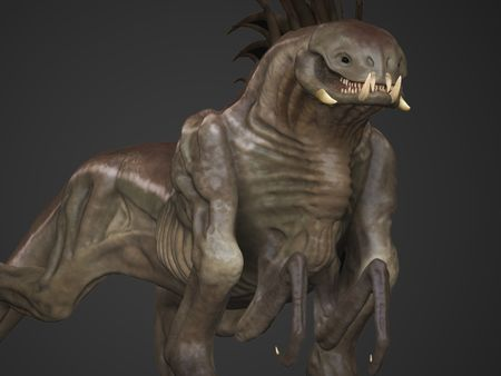Learning Project - Creature