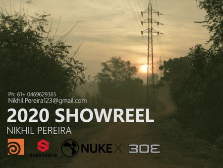 Visual Effects ShowReel 2020