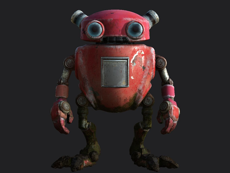 Abandoned Eddie Robot
