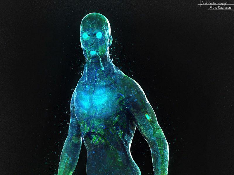 Acidic Zombie Concept
