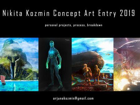 Concept Art Entry 2019 / Nikita Kozmin