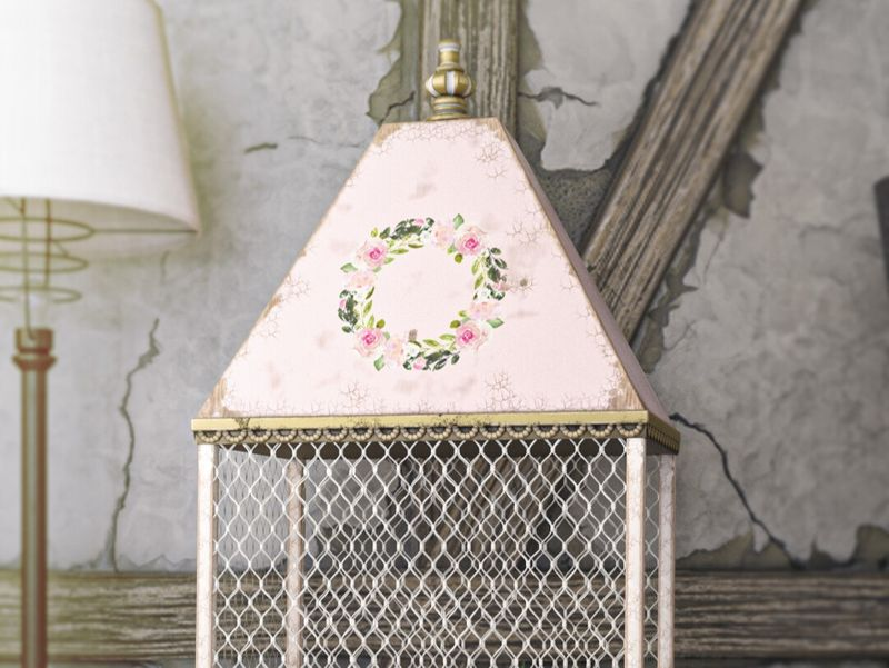 Vintage French Birdcage