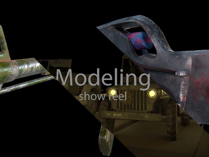 modeling show reel