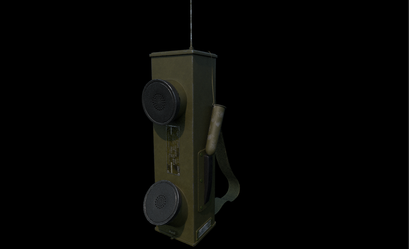 WW2 hand radio