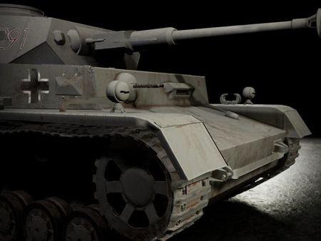 Panzer IV | Game asset