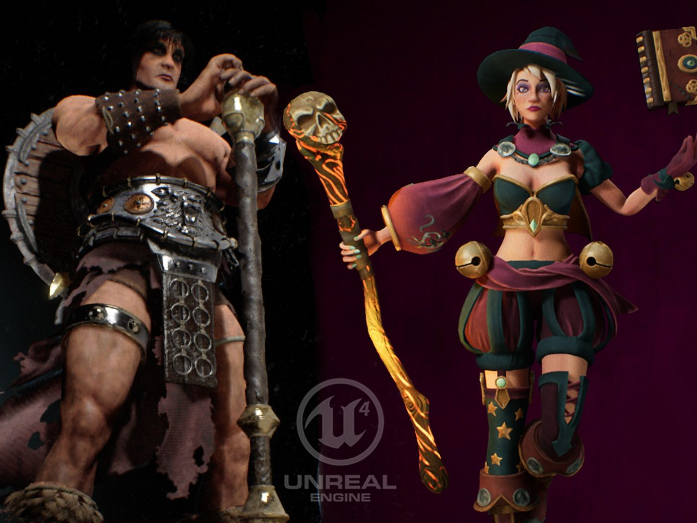 Conan & Sibyl - Nicola Licandro - Game ready Characters