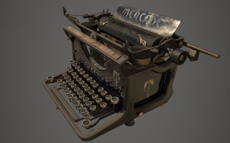 Mercedes Typewriter