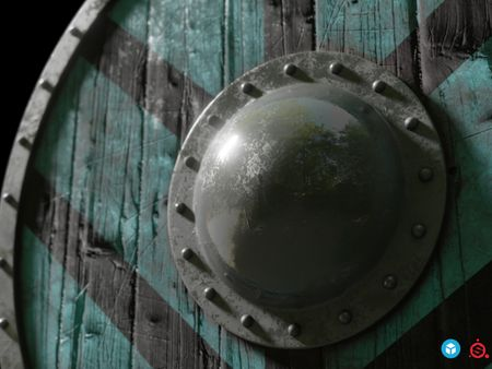 Viking Shield - Lagertha Inspired