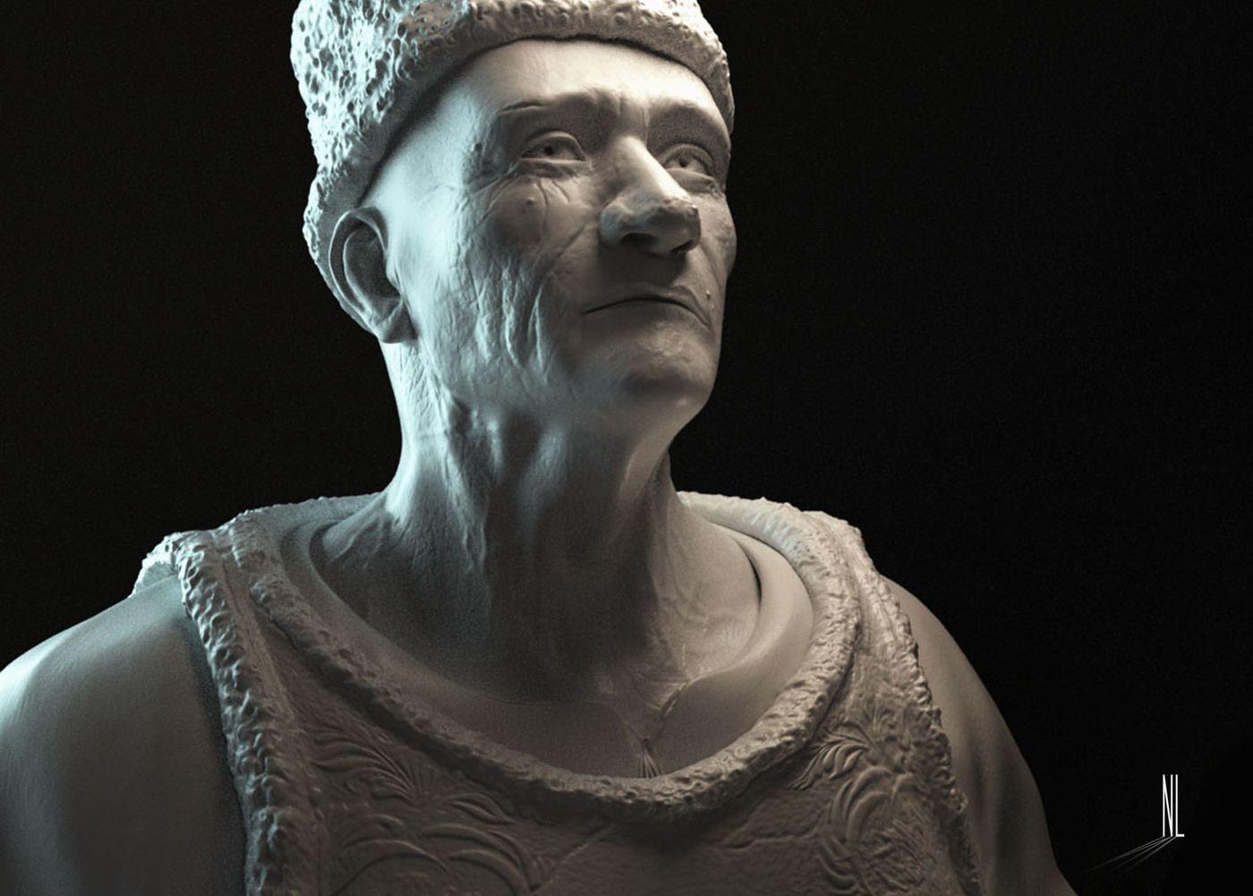 MOLDOVAN 3D SCULTURE